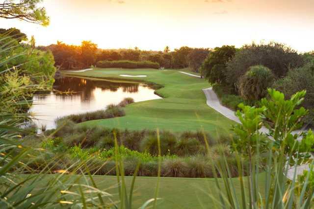 A view of a tee at LaPlaya Beach & Golf Resort.