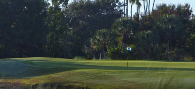 A view of hole #4 at Shadow Wood Preserve.