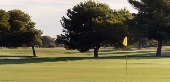 A view of a green at Ken Mc Donald Golf Course