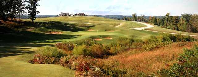 A view of the 7th hole at WindRiver Golf Course.