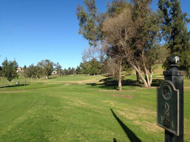 A view from tee #2 at Mission Trails Golf Course.
