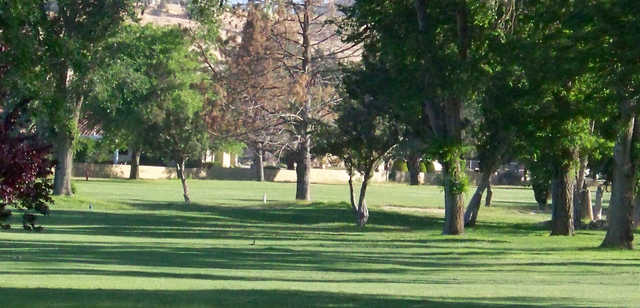 A view from Hesperia Golf & Country Club.
