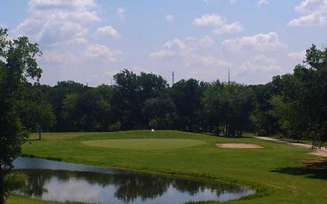 View of a green at Hidden Oaks.