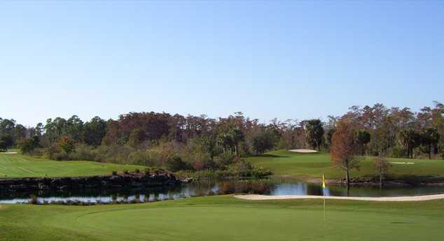A view of green at Cypress Woods Golf & Country Club