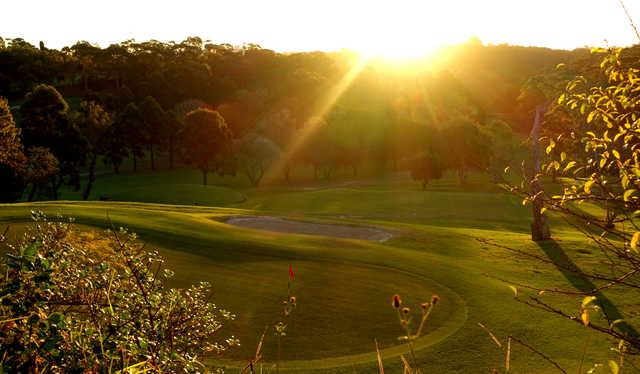 View of the 18th hole at Chatswood Golf Club