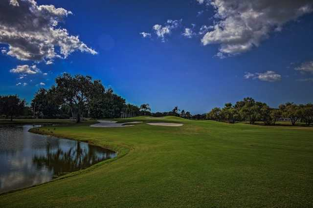 A view from fairway #10 at West from Imperial Golf Club.