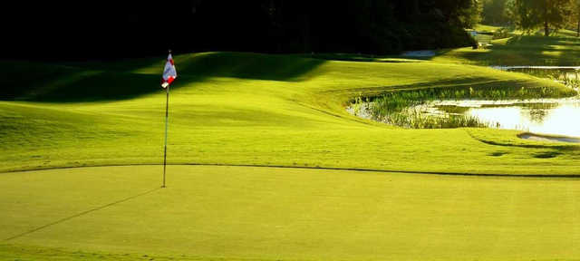 A view of a hole at Pelican Sound Golf & River Club.