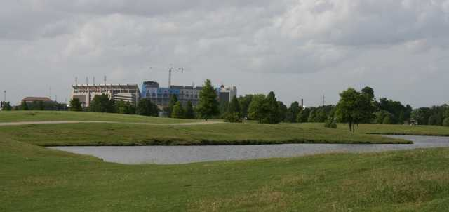 A view from LSU Golf Course.