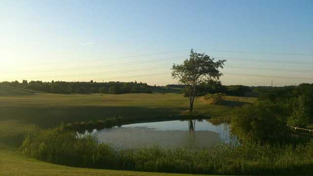 A view from Woodlands Golf & Country Club.