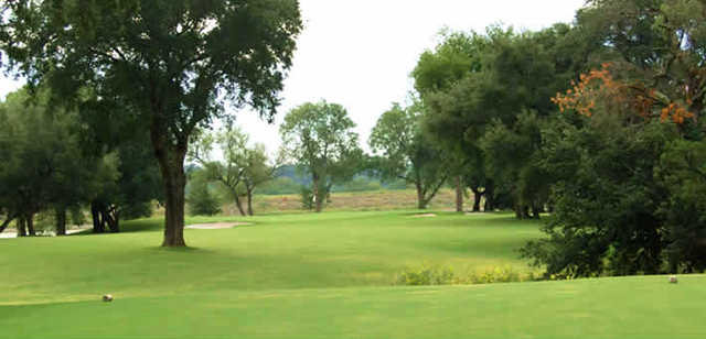 A view from a tee at Starr Hollow Golf Club.