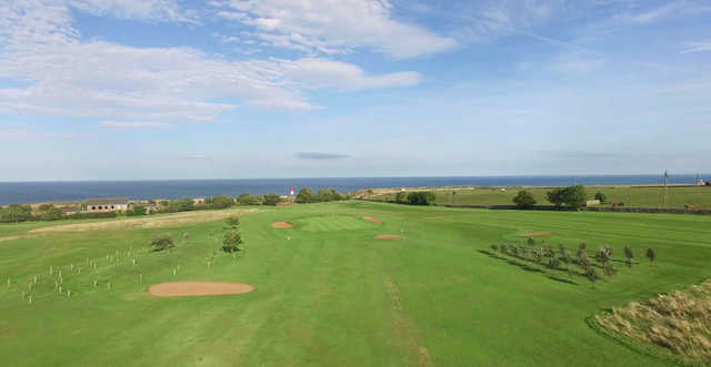 View of the 3rd green at Whitburn Golf Club
