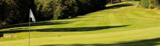 A view from Forest Meadows Golf Course