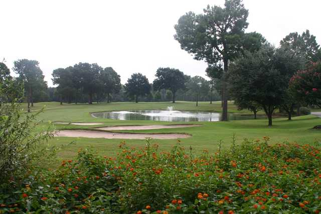 A view of a fairway at Willow Brook Country Club.
