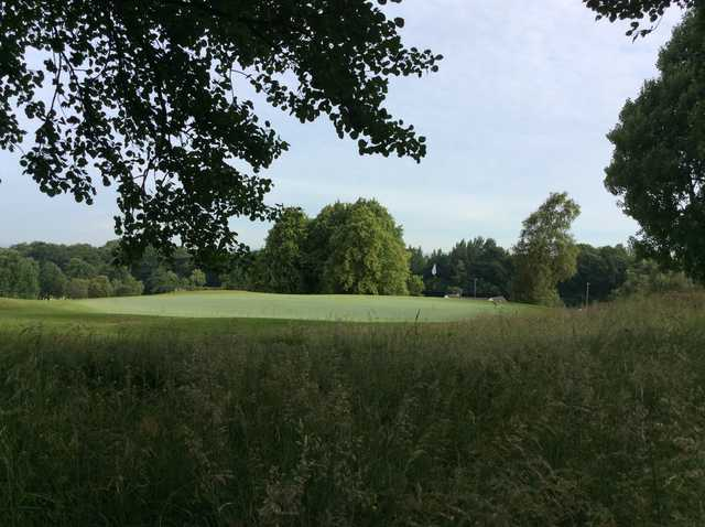 View of the 10th green at Cowglen Golf Club