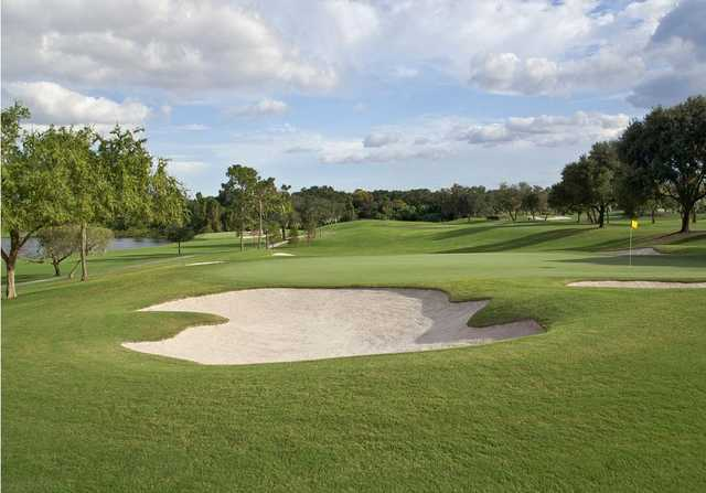 A view of the 7th hole from Championship at Bay Hill Club & Lodge.