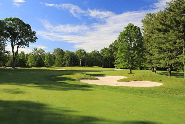 A view of from the 1st fairway at Silver Spring Country Club.