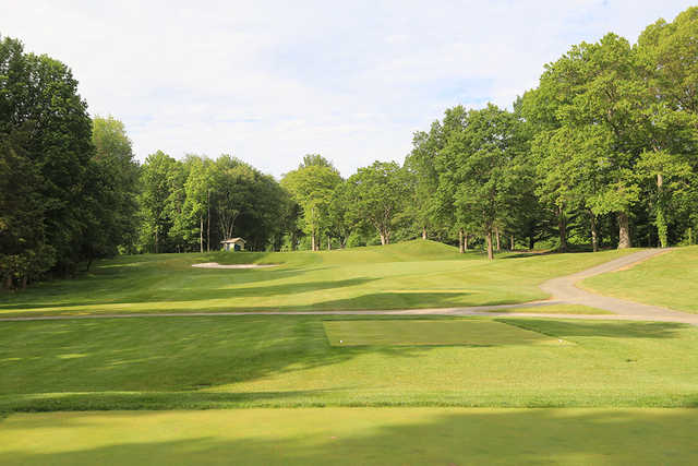 A view from tee #3 at Silver Spring Country Club.