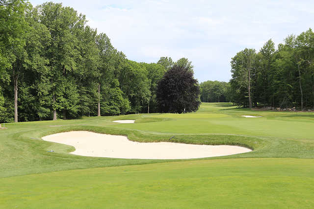 A view of the 6th green at Silver Spring Country Club.