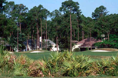 A view of hole #4 at Jacksonville Golf & Country Club
