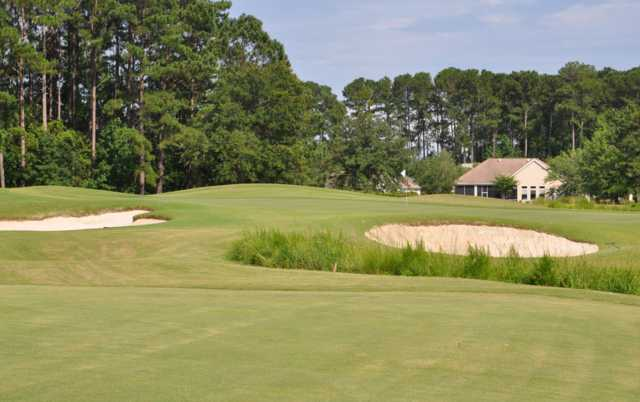 A view of hole #6 at Hidden Cypress Golf Club.