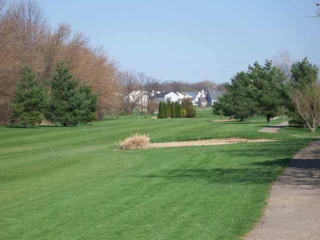 A view of the 1st hole from 180 Yards at Morningstar Golf Club