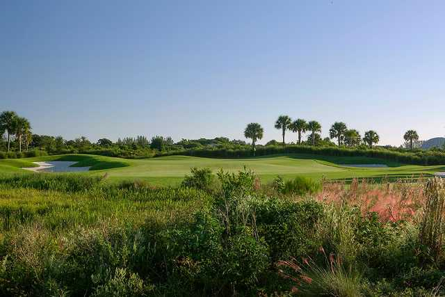 A view of a hole at Osprey Point Golf Club.
