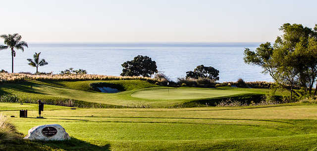 A view of tee #9 from The Links at Terranea.