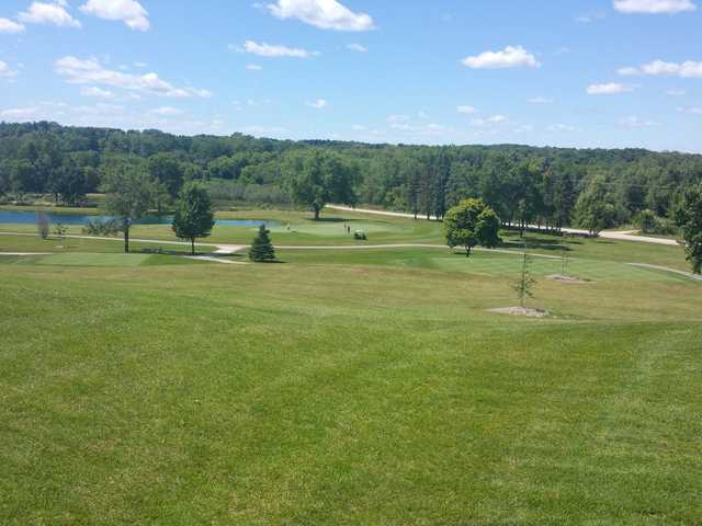 View of the 3rd hole from Mee-Kwon Park Golf Course.