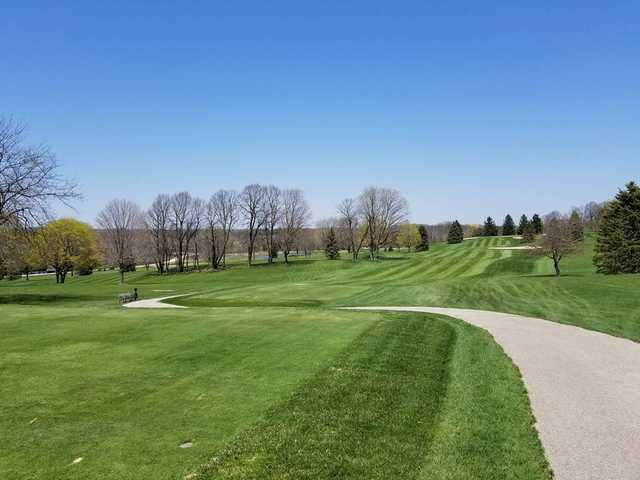 View from a fairway at Mee-Kwon Park Golf Course