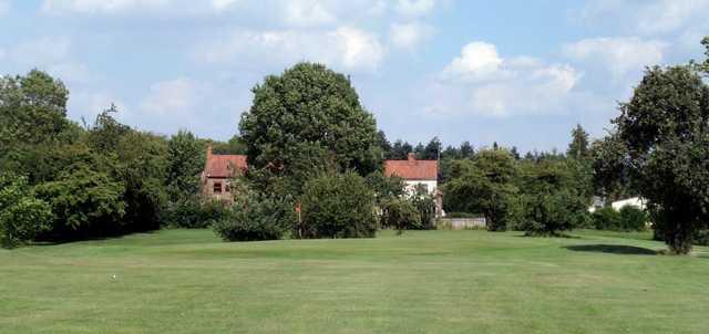 18th green at Scalm Park Golf Club
