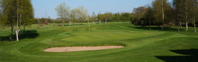 A view from Scalm Park Golf Club