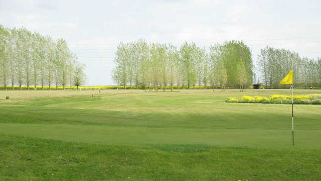 View from a green at Scalm Park Golf Club