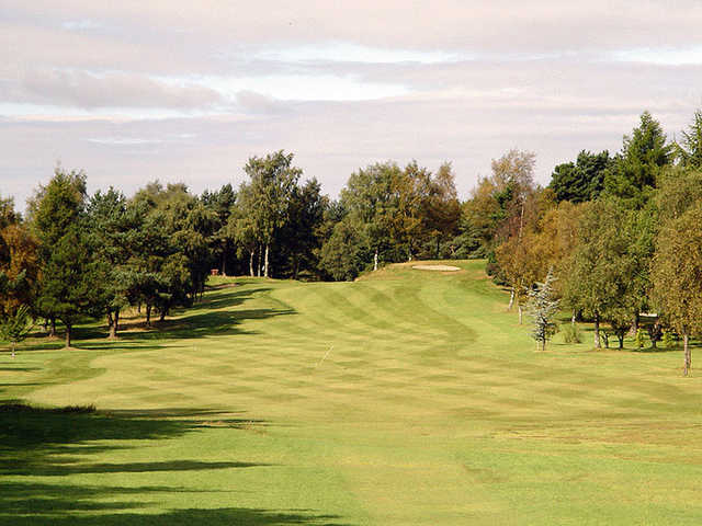 A view of fairway #11 at Hayston Golf Club.