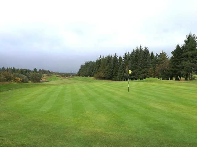 A view of a green at Ranfurly Castle Golf Club.
