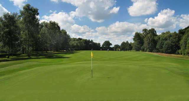 A view from a green at Carlisle Golf Club.