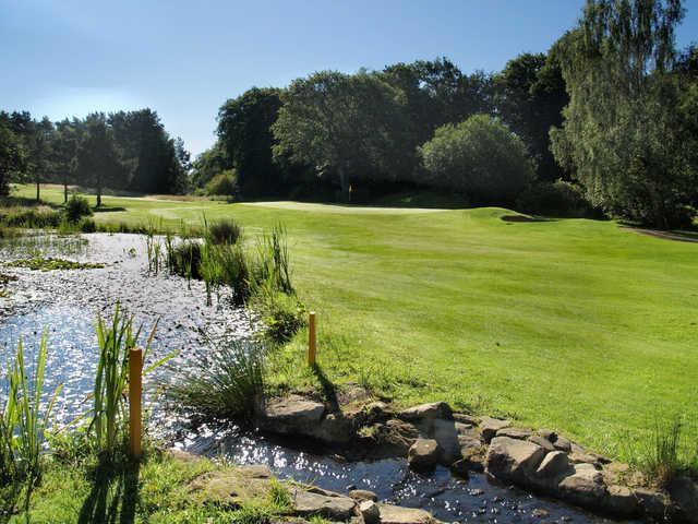 View of a green at Carlisle Golf Club
