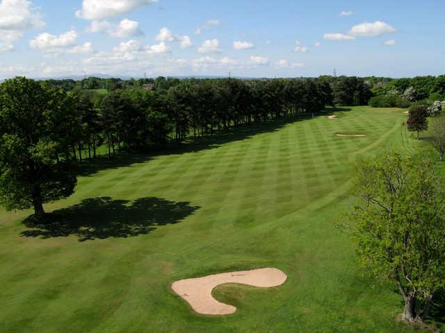 Aerial view from Carlisle Golf Club