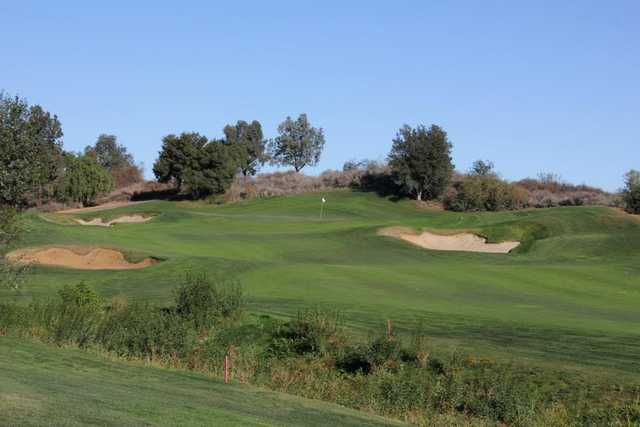 A view of a hole from Morongo Golf Club at Tukwet Canyon.