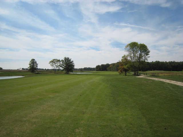 A view of fairway #3 at The Ridge Golf & Gardens