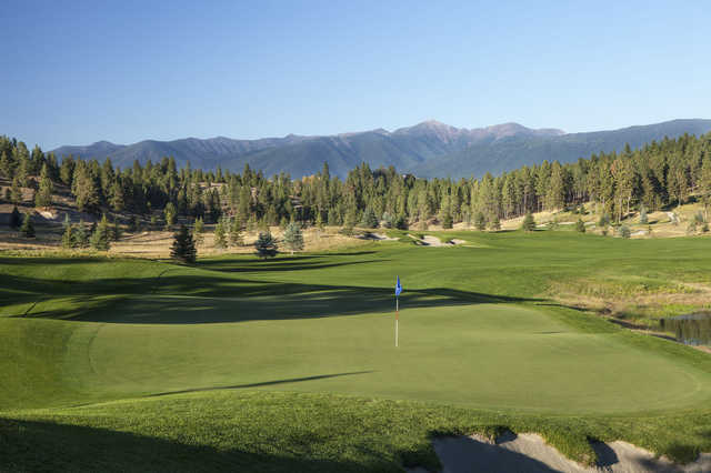 A view of hole #16 at Wilderness Club.