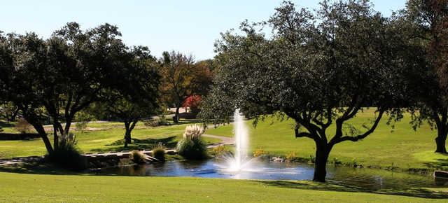 A view over the water from DeCordova Bend Country Club.