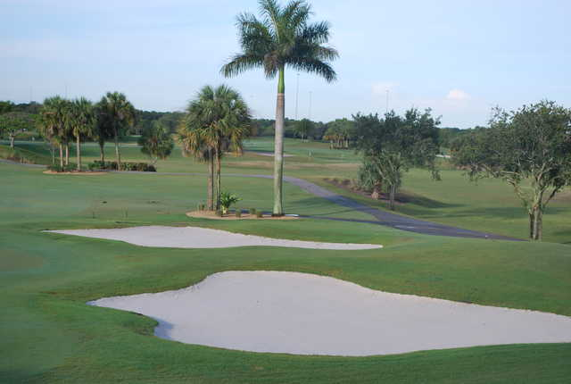 A view from Abacoa Golf Club.