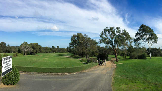 A view of a tee at Waverley Golf Club.