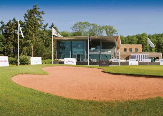 View of the clubhouse at KP Club