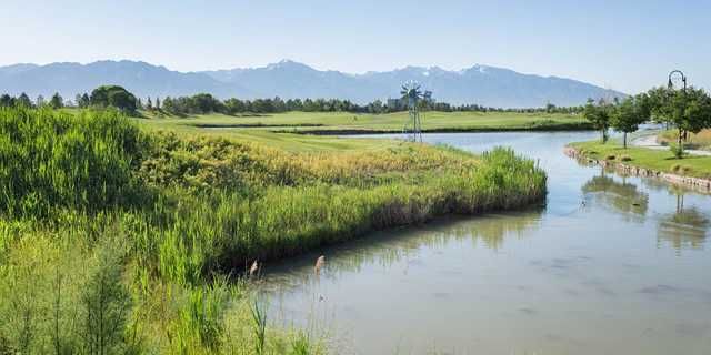 A view over the water from Stonebridge Golf Club.