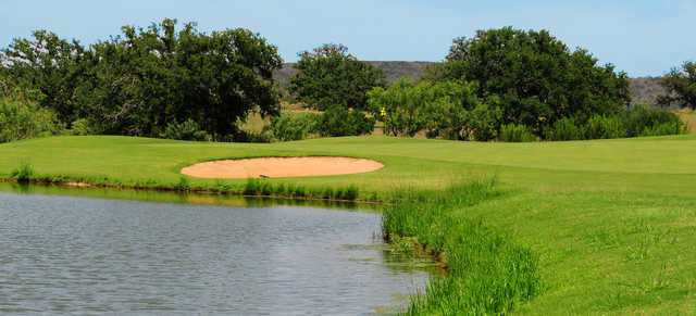 A view of hole #11 at Legends on Lake LBJ.