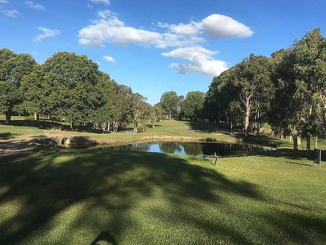 View from a tee at Caboolture Golf Club