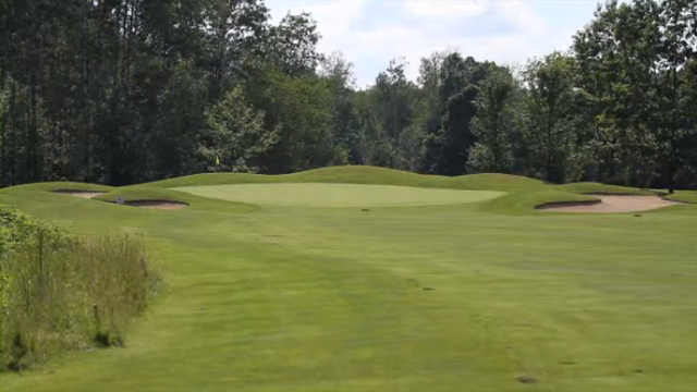 A view of the 7th hole at Bass Lake Golf Course.