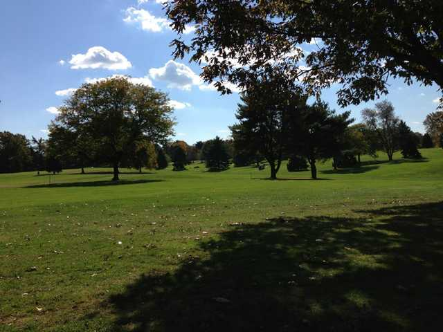 A view from Weequahic Park Golf Course