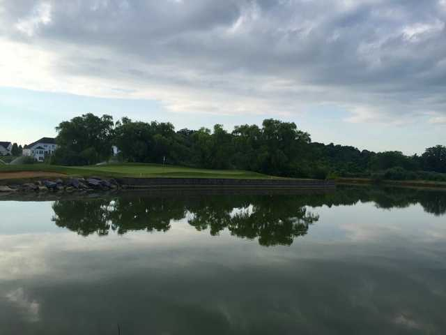 View of a green at Locust Hills Golf Course